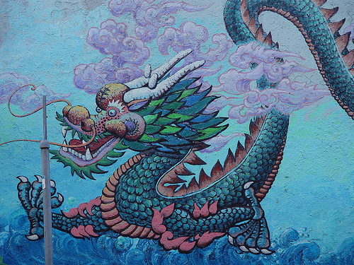 Ride The Wave Chinese Zodiac Year Of The Water Dragon 2012